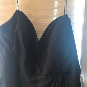 Navy gown from kleinfeld